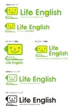 オンライン英会話教室のロゴ(商標登録予定なし)への提案