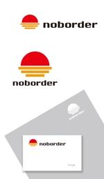 serve2000さんのスタートアップ企業「Noborder」の自社コーポレートロゴ作成への提案