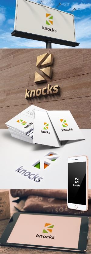 katsu31さんの企業ロゴ「株式会社ノックス」のロゴへの提案