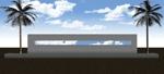 tekutekuikoさんの会社の庭のオブジェのデザインへの提案