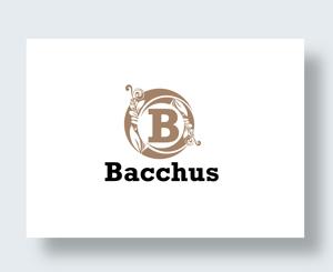 zen634さんの「Bacchus株式会社」のロゴデザインをお願いします。への提案