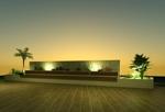 会社の庭のオブジェのデザインへの提案