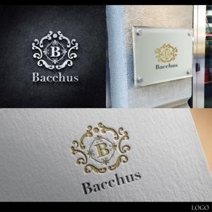 muragoさんの「Bacchus株式会社」のロゴデザインをお願いします。への提案