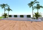 i_design1さんの会社の庭のオブジェのデザインへの提案