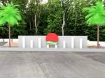 tora_09さんの会社の庭のオブジェのデザインへの提案