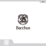 neomasuさんの「Bacchus株式会社」のロゴデザインをお願いします。への提案