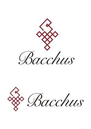 su_san69さんの「Bacchus株式会社」のロゴデザインをお願いします。への提案