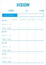 Daikanさんのコーチング用シートのデザイン(PDF・ワード・イラレ等)への提案