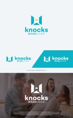 take5-designさんの企業ロゴ「株式会社ノックス」のロゴへの提案