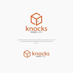 VEROさんの企業ロゴ「株式会社ノックス」のロゴへの提案