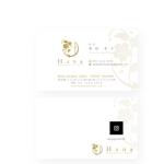 noraya_jrさんの新規開院美容クリニックの名刺作成への提案