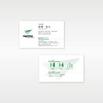 Raptorさんの人材派遣会社「リプライム」の名刺デザインへの提案