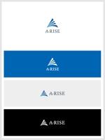 tobiuosunsetさんの会社名A-RISEのロゴへの提案