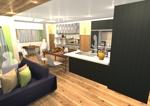 sasa2410さんの内装デザイン ワンルームアパートのインテリアデザインの仕事への提案