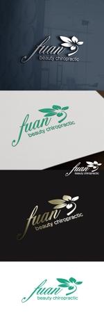 cozzyさんの美容整体サロン「fuan」のロゴへの提案