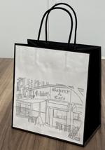 俺のBakery「クロワッサン食パン」のお持ち帰り用紙袋への提案