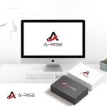 doremidesignさんの会社名A-RISEのロゴへの提案