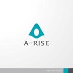 sa_akutsuさんの会社名A-RISEのロゴへの提案