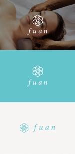 tanaka10さんの美容整体サロン「fuan」のロゴへの提案