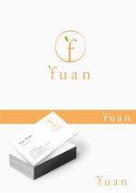 Morinohitoさんの美容整体サロン「fuan」のロゴへの提案