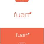 queuecatさんの美容整体サロン「fuan」のロゴへの提案