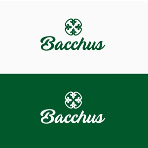 atomgraさんの「Bacchus株式会社」のロゴデザインをお願いします。への提案