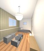 hatch_interiorさんの内装デザイン ワンルームアパートのインテリアデザインの仕事への提案