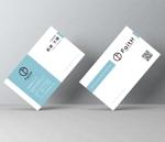 hold_outさんのリフォーム、リノベーション等の建設会社 FaitH.株式会社の名刺デザインへの提案