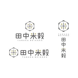 kcd001さんの米穀店のロゴ作成への提案