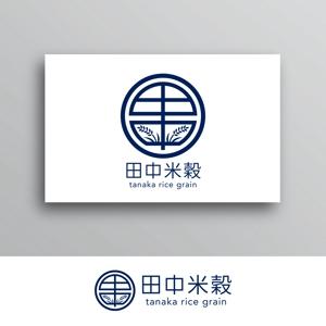White-designさんの米穀店のロゴ作成への提案