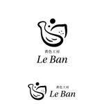 marutsukiさんのレモネード&バナナジュース専門店 『黄色工房 Le Ban』(ルバン) ロゴへの提案
