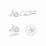bboxさんのレモネード&バナナジュース専門店 『黄色工房 Le Ban』(ルバン) ロゴへの提案