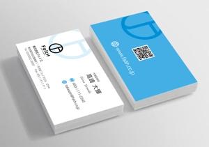 mizuno5218さんのリフォーム、リノベーション等の建設会社 FaitH.株式会社の名刺デザインへの提案