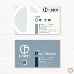 MOLIANDさんのリフォーム、リノベーション等の建設会社 FaitH.株式会社の名刺デザインへの提案