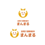 訪問介護事業所 まんまる の ロゴへの提案
