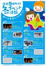 colabplanさんの観光用イベントPRポスターのデザイン(A1)への提案