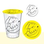 nicokco0217さんのレモネード&バナナジュース専門店 『黄色工房 Le Ban』(ルバン) ロゴへの提案