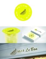 TScompanyさんのレモネード&バナナジュース専門店 『黄色工房 Le Ban』(ルバン) ロゴへの提案