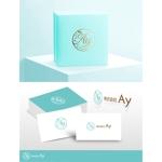 美容サロン、化粧品販売会社の会社、株式会社Ayのロゴロゴへの提案