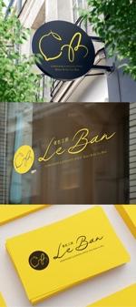 flatdesignebisuさんのレモネード&バナナジュース専門店 『黄色工房 Le Ban』(ルバン) ロゴへの提案