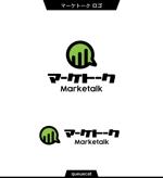 queuecatさんのマーケティングサービスのロゴ制作への提案