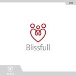 スタートアップ企業「Blissfull」の自社コーポレートロゴ作成への提案