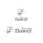 ヘアサロン「flower」ロゴ制作依頼への提案