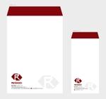 hautuさんの会社の封筒2種類のデザインへの提案