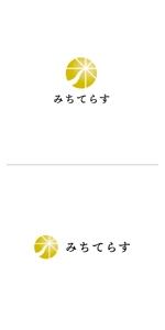 ol_zさんの経理労務法務コンサル会社 みちてらす のロゴ作成への提案