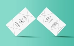 j__designさんのルサンククリニック名刺への提案