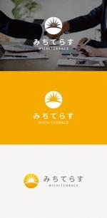 tanaka10さんの経理労務法務コンサル会社 みちてらす のロゴ作成への提案