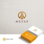 doremidesignさんの経理労務法務コンサル会社 みちてらす のロゴ作成への提案