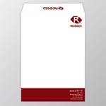 atelierRMさんの会社の封筒2種類のデザインへの提案