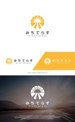 take5-designさんの経理労務法務コンサル会社 みちてらす のロゴ作成への提案